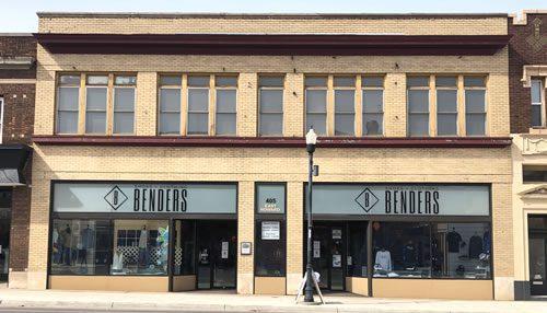 Benders Hibbing store exterior