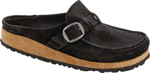 Birkenstock Buckley Black Suede