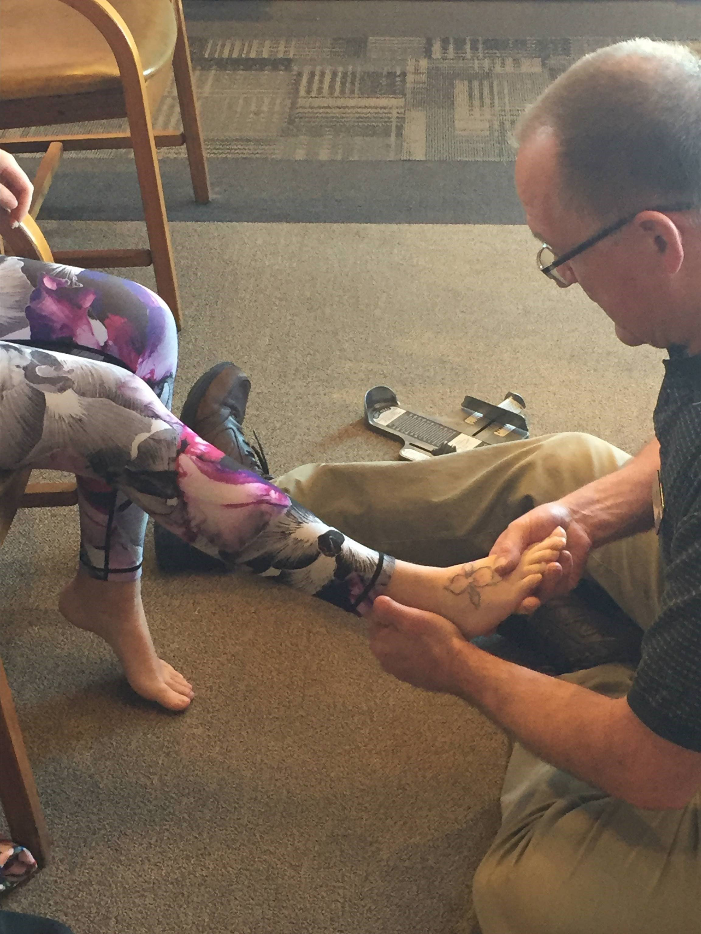 Advanced Foot Evaluation