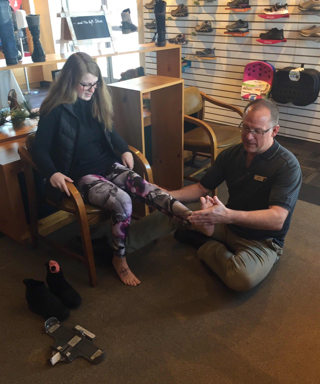 Mike Nielsen, Pedortist at Benders Shoes