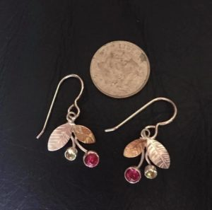 "Lily Winter jewelry ""tiny berries'"